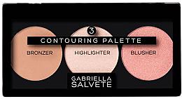 Parfüm, Parfüméria, kozmetikum Bőrvilágosító paletta - Gabriella Salvete Contouring Palette