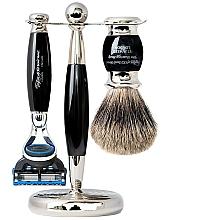 Parfüm, Parfüméria, kozmetikum Szett - Taylor of Old Bond Street Fusion (razor/1szt + sh/brush/1szt + stand/1szt)
