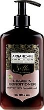Parfüm, Parfüméria, kozmetikum Öblítést nem igénylő kondicionáló száraz és sérült hajra - Arganicare Silk Leave-In Conditioner For Very Dry & Damaged Hair