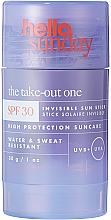 Parfüm, Parfüméria, kozmetikum Napvédő stift arc- és test bőrére - Hello Sunday The Take-Out One Invisible Sun Stick SPF 30