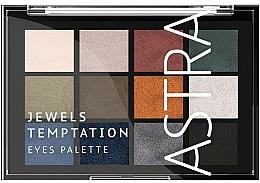 Parfüm, Parfüméria, kozmetikum Szemhéjfesték paletta - Astra Make-up The Temptation Palette