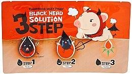 Parfüm, Parfüméria, kozmetikum 3 lépés a mitesszerek eltávolításához - Elizavecca Milky Piggy Black Head Solution 3 Step