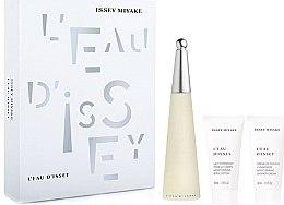 Parfüm, Parfüméria, kozmetikum Issey Miyake Leau Dissey - Szett (edt 50ml + b/l 50ml + sh/gel 50ml)