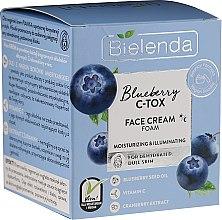 Parfüm, Parfüméria, kozmetikum Hidratáló és világosító krém-hab arcra - Bielenda Blueberry C-Tox Face Cream