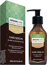 """Parfüm, Parfüméria, kozmetikum Hajszérum """"Kókusz vaj"""" - Arganicare Coconut Hair Serum For Dull, Very Dry & Frizzy Hair"""