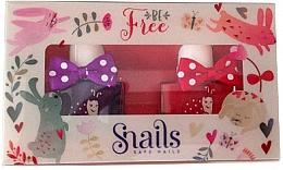 Parfüm, Parfüméria, kozmetikum Gyerek körömlakk 2x10,5ml - Snails Mini Bebe Be Free