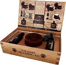 Parfüm, Parfüméria, kozmetikum Dear Barber IV Shave Care Collection - Készlet (shave/cr/100ml + shave/oil/30ml + edt/30ml)