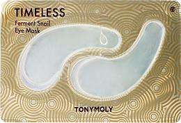 Parfüm, Parfüméria, kozmetikum Hidrogél szempárna csigamucinnal szemkörnyékre - Tony Moly Timeless Ferment Snail Eye Mask