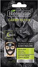 Parfüm, Parfüméria, kozmetikum Tisztító szén maszk kombinált bőrre - Bielenda Carbo Detox Cleansing Mask Mixed and Oily Skin