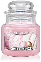Parfüm, Parfüméria, kozmetikum Illatgyertya üvegben - Country Candle Blushberry Frose