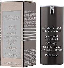 Parfüm, Parfüméria, kozmetikum Arcápoló krém férfiaknak - Sisley Sisleyum For Men Anti-Age Global Revitalizer Dry Skin
