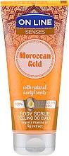 Parfüm, Parfüméria, kozmetikum Testradír - On Line Senses Body Scrub Moroccan Gold