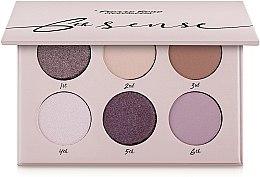 Parfüm, Parfüméria, kozmetikum Szemhéjfesték paletta, 6 szín - Pierre Rene 6th Sense Eyeshadow Palette