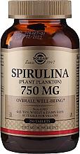 Parfüm, Parfüméria, kozmetikum Spirulina - Solgar Spirulina Plant Plankton (Étrend-kiegészítő)