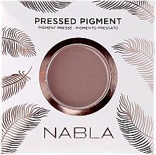 Parfüm, Parfüméria, kozmetikum Matt szemhéjfesték - Nabla Pressed Pigment Feather Edition Matte Refill Eyeshadow (utántöltő blokk)