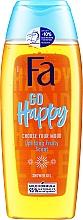 """Parfüm, Parfüméria, kozmetikum Tusfürdő """"Hozd létre a kedved"""" gyümölcsillat - Fa Go Happy Shower Gel"""