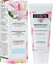 Parfüm, Parfüméria, kozmetikum Arcmaszk kombinált bőrre - Coslys Facial Care Radiant Mask With Lily Extract