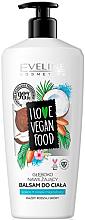"""Parfüm, Parfüméria, kozmetikum Testápoló balzsam """"Kókusz és mandula"""" - Eveline I Love Vegan Food Body Balm"""