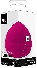 Parfüm, Parfüméria, kozmetikum Sminkszivacs, rózsaszín - Auri Flawless Finish Blending Sponge 3D