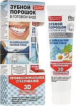 "Parfüm, Parfüméria, kozmetikum Fogpor, Bajkáli kék agyag tartalmú ""3D"" - Fito Kozmetikum Népi receptek"