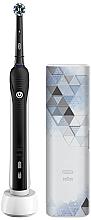Parfüm, Parfüméria, kozmetikum Elektromos fogkefe - Oral-B Pro 750 Cross Action Black