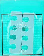 Parfüm, Parfüméria, kozmetikum Lábujjelválasztó, menta - Oriflame Pedicure Toe Separators