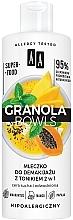 Parfüm, Parfüméria, kozmetikum Sminkeltávolító tej tonikkal érzékeny és és kiszáradt bőrre - AA Granola Bowls Makeup Remover Milk And Tonic 2 in 1