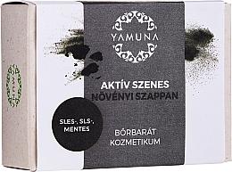 """Parfüm, Parfüméria, kozmetikum Szappan """"Aktív szén"""" - Yamuna Activated Carbon Vegetable Soap"""