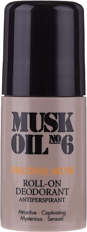 Golyós izzadásgátló - Gosh Musk Oil No.6 Roll-On Deodorant
