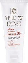 Parfüm, Parfüméria, kozmetikum Öregedésgátló fényvédő SPF50 őssejtekkel - Yellow Rose Cellular Sun Care Cream SPF-50