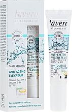 Parfüm, Parfüméria, kozmetikum Szemkörnyékápoló krém Q10 - Lavera Basis Sensitiv Anti-Ageing Eye Cream Q10