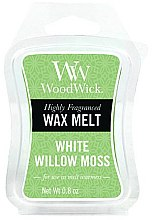 Parfüm, Parfüméria, kozmetikum Illatosított viasz - WoodWick Wax Melt White Willow Moss