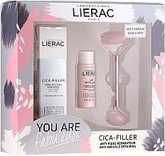 Parfüm, Parfüméria, kozmetikum Szett - Lierac Cica-Filler Set (f/cr/40ml + f/milk/30ml + roller/1pcs)
