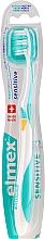 Parfüm, Parfüméria, kozmetikum Fogkefe, lágy, türkiz sárga - Elmex Sensitive Toothbrush Extra Soft