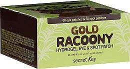 Parfüm, Parfüméria, kozmetikum Hidrogél szemtapasz arannyal - Secret Key Gold Racoony Hydrogel Eye Spot Patch