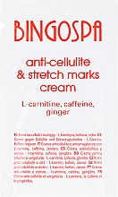 Parfüm, Parfüméria, kozmetikum Anti-cellulit krém koffeinnel és gyömbérrel - BingoSpa Cream For Cellulite