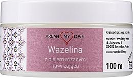 Parfüm, Parfüméria, kozmetikum Vazelin rózsaolajjal arcra és testre - Argan My Love