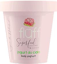 "Parfüm, Parfüméria, kozmetikum Testápoló ""Dinnye"" - Fluff Body Yogurt Watermelon"