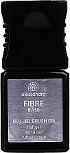 Parfüm, Parfüméria, kozmetikum Üvegszálas bázis körömre - Alessandro International UV/LED Brush On Fiber Base