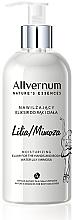 """Parfüm, Parfüméria, kozmetikum Test és kézápoló elixír """"Vízililiom és mimóza"""" - Allverne Nature's Essences Elixir for Hands and Body"""