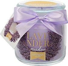 Parfüm, Parfüméria, kozmetikum Illatosított gyertya, 10x11 cm, 360 g. - Artman Lavender Meadow