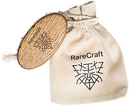 Parfüm, Parfüméria, kozmetikum Szakáll kefe tölgyből 11.5 x 6 cm - RareCraft
