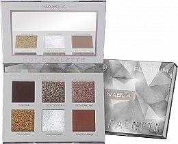 Parfüm, Parfüméria, kozmetikum Szemhéjfesték paletta - Nabla Cutie Collection Palette Platinum