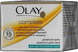 Parfüm, Parfüméria, kozmetikum Nappali krém érzékeny bőrre - Olay Complete Day Cream