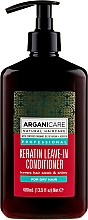 Parfüm, Parfüméria, kozmetikum Öblítést nem igénylő kondicionáló száraz hajra keratinnal - Arganicare Keratin Leave-in Conditioner For Dry Hair