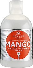 "Parfüm, Parfüméria, kozmetikum Hidratáló-regeneráló sampon ""Mango"" - Kallos Cosmetics Mango"