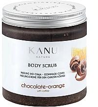 """Parfüm, Parfüméria, kozmetikum Lábpeeling """"Csoki és narancs"""" - Kanu NatureBody Scrub"""