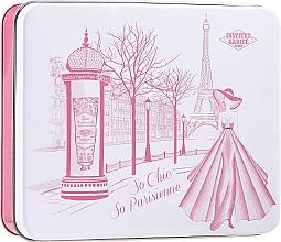 Parfüm, Parfüméria, kozmetikum Szett - Institut Karite Rose Mademoiselle (soap/100g + h/cr/30ml + b/oil/10ml + candle/1pc + confetti + box)