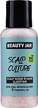 Parfüm, Parfüméria, kozmetikum Tisztító hámlasztó maszk fejbőrree - Beauty Jar Scalp Culture Scrub & Mask