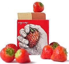 Parfüm, Parfüméria, kozmetikum Természetes szappan szamóca kivonattal - Uoga Uoga Strawberry! Soap